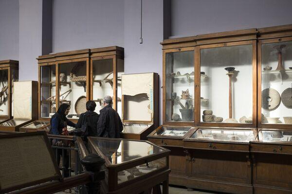 W nowym budynku muzeum w Gizie umieszczone zostaną skary z grobowca Tutenchamona, a to około pięciu tysięcy przedmiotów. - Sputnik Polska