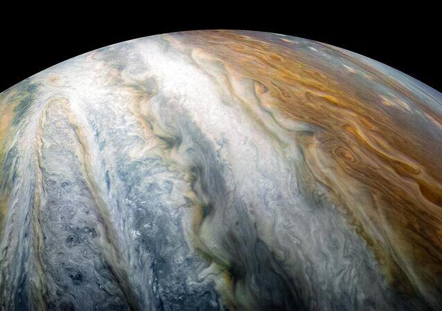 Pas obłoków Jowisza