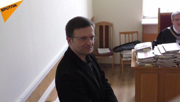 Mateusz Piskorski w sądzie w Warszawie, 16.01.2018r. - Sputnik Polska