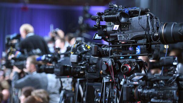 Konferencja prasowa prezydenta Rosji Władimira Putina - Sputnik Polska