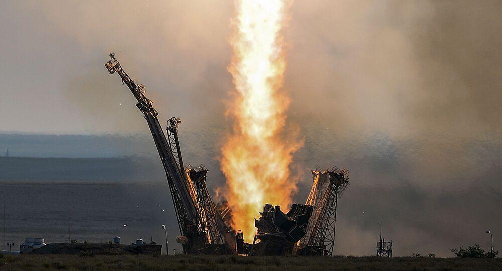 Start rakiety Sojuz-FG