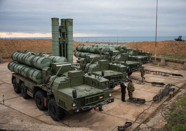 System obrony przeciwlotniczej S-400 Triumf
