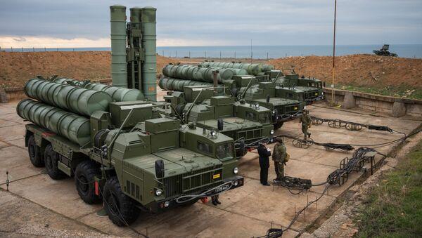 System obrony przeciwlotniczej S-400 Triumf - Sputnik Polska