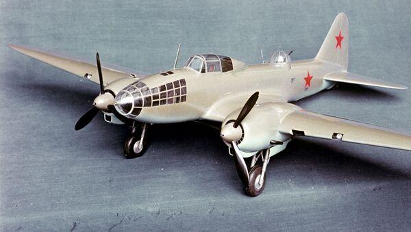 Model samolotu Ił-4 - Sputnik Polska