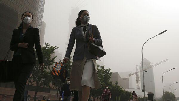 Smog w Pekinie - Sputnik Polska