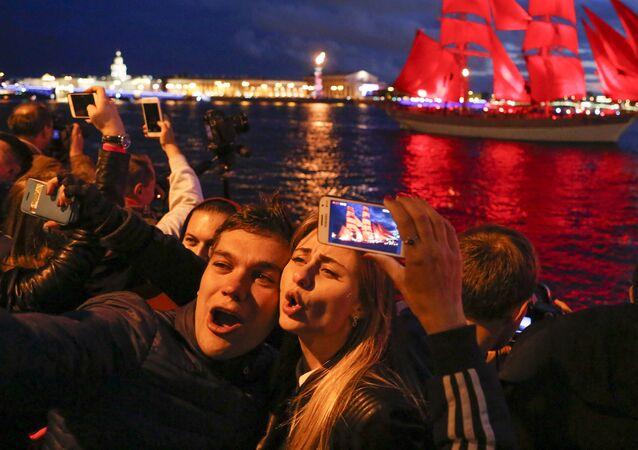 Festiwal Ałyje Parusa w Petersburgu