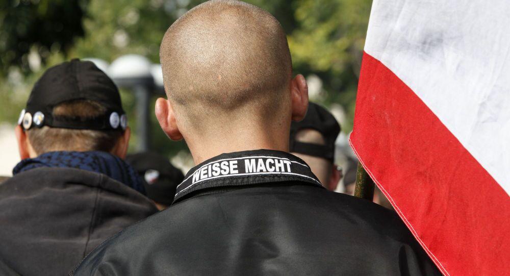 Wiec neonazistów w Niemczech