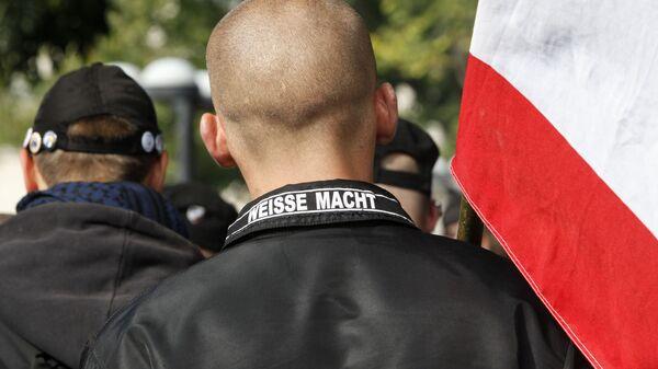 Wiec neonazistów w Niemczech - Sputnik Polska