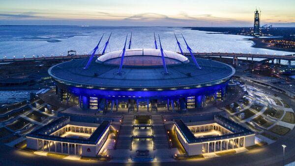 "Stadion ""Petersburg Arena"" w Petersburgu - Sputnik Polska"
