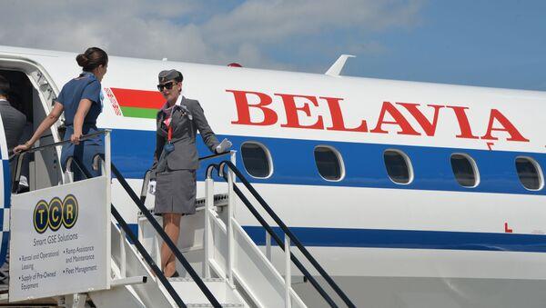Białoruskie linie lotnicze Belavia - Sputnik Polska