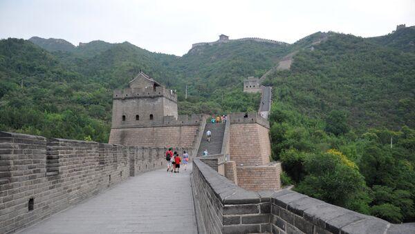 Великая Китайская стена в окрестностях Пекина - Sputnik Polska