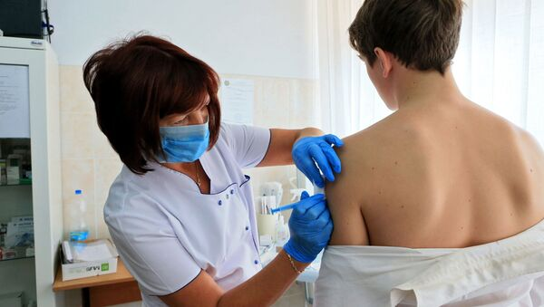 Szczepienie przeciwko grypie - Sputnik Polska