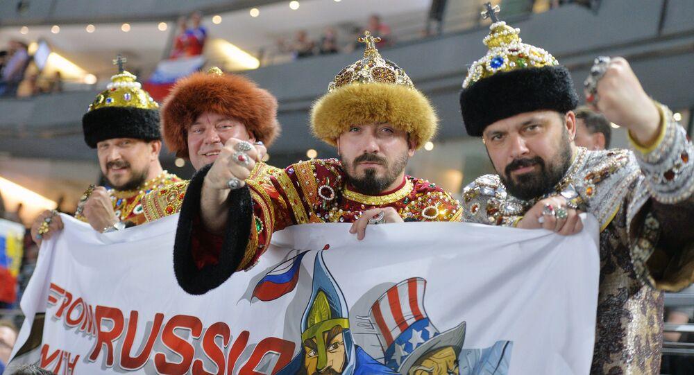 Rosyjscy kibice