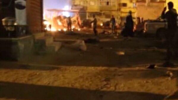 Eksplozje samochodów-pułapek w Libii - Sputnik Polska