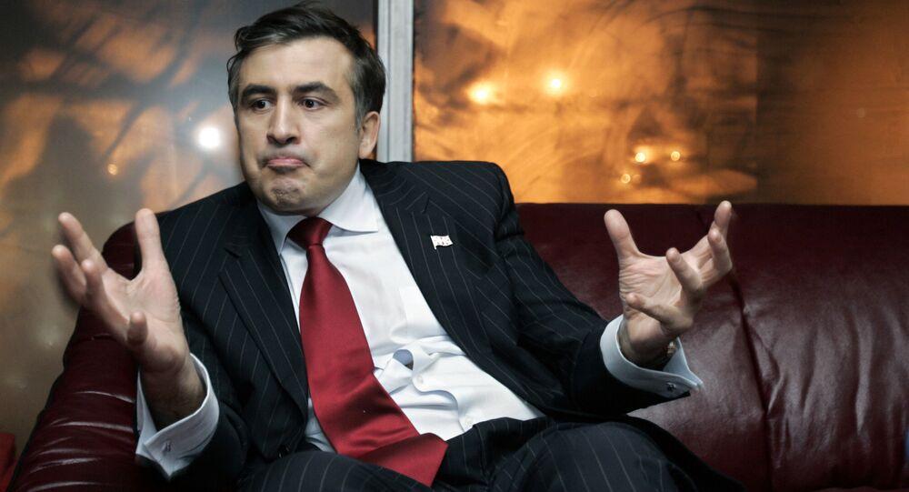 Gruziński polityk Michaił Saakaszwili