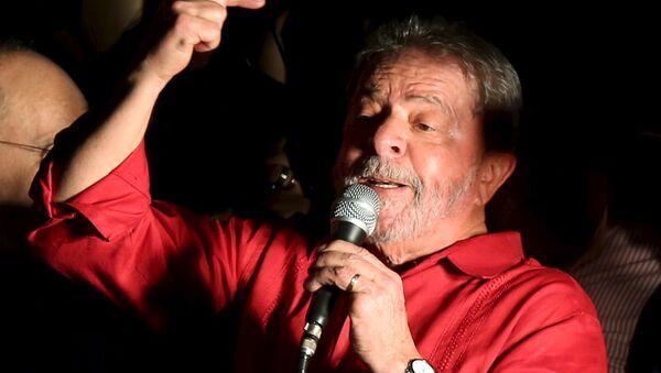 Prezydent Brazylii Luiz Inacio Lula da Silva - Sputnik Polska