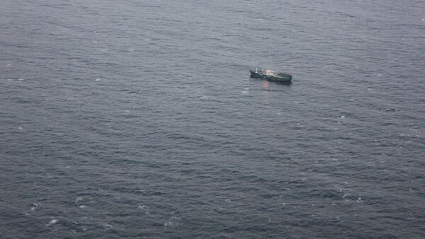 Poszukiwanie statku na Morzu Japońskim. Zdjęcie archiwalne - Sputnik Polska
