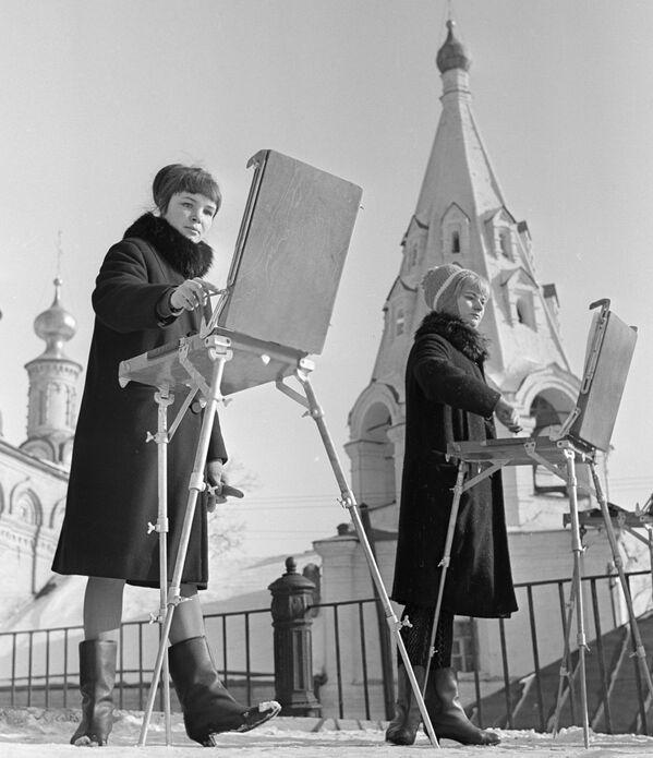 Rosyjscy studenci w ZSRR i dziś, 1967 rok - Sputnik Polska