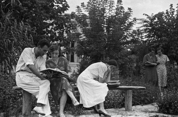 Rosyjscy studenci w ZSRR i dziś, 1939 rok - Sputnik Polska
