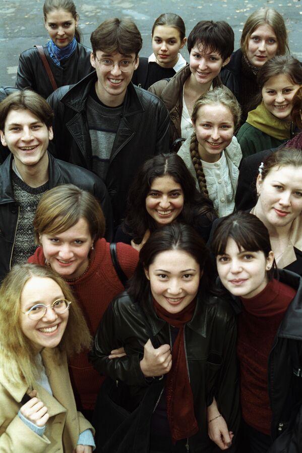 Rosyjscy studenci w ZSRR i dziś - Sputnik Polska