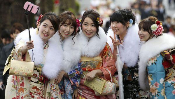 Dzień Dorosłych w Japonii - Sputnik Polska