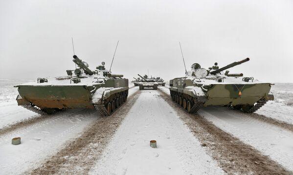 Próba parady z okazji 75. rocznicy bitwy pod Stalingradem - Sputnik Polska
