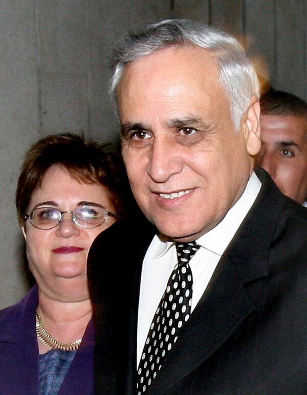 Prezydent Izraela Moshe Katzav i jego żona Gila - Sputnik Polska