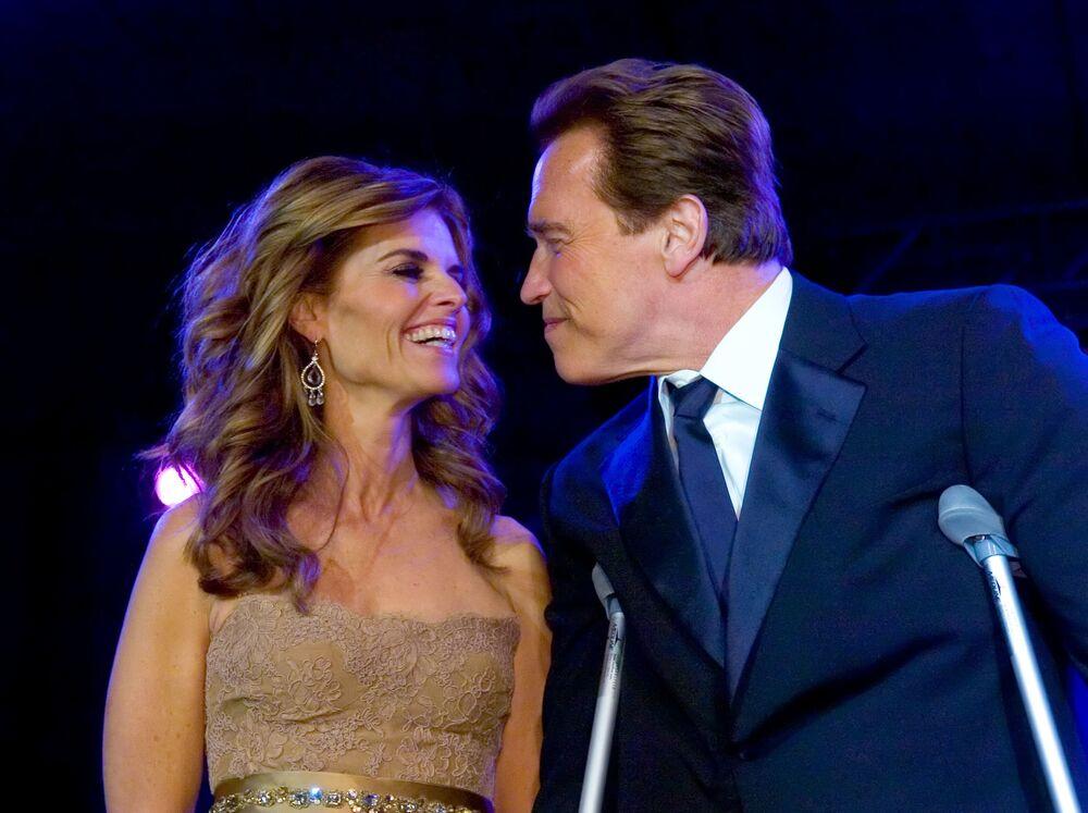 Arnold Schwarzenegger i jego żona Maria Shriver