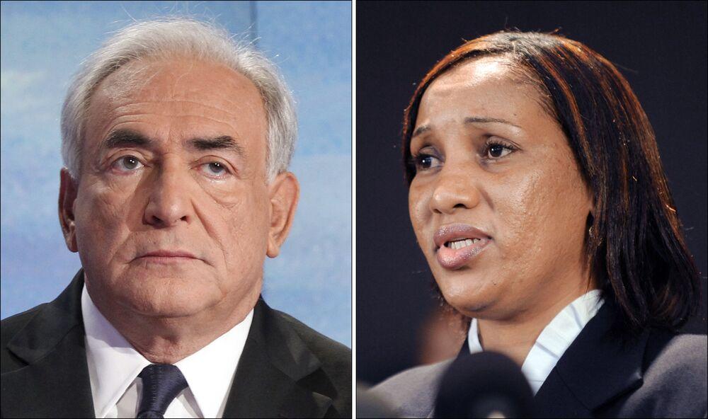 Dominique Strauss-Kahn i Nafissatou Diallo