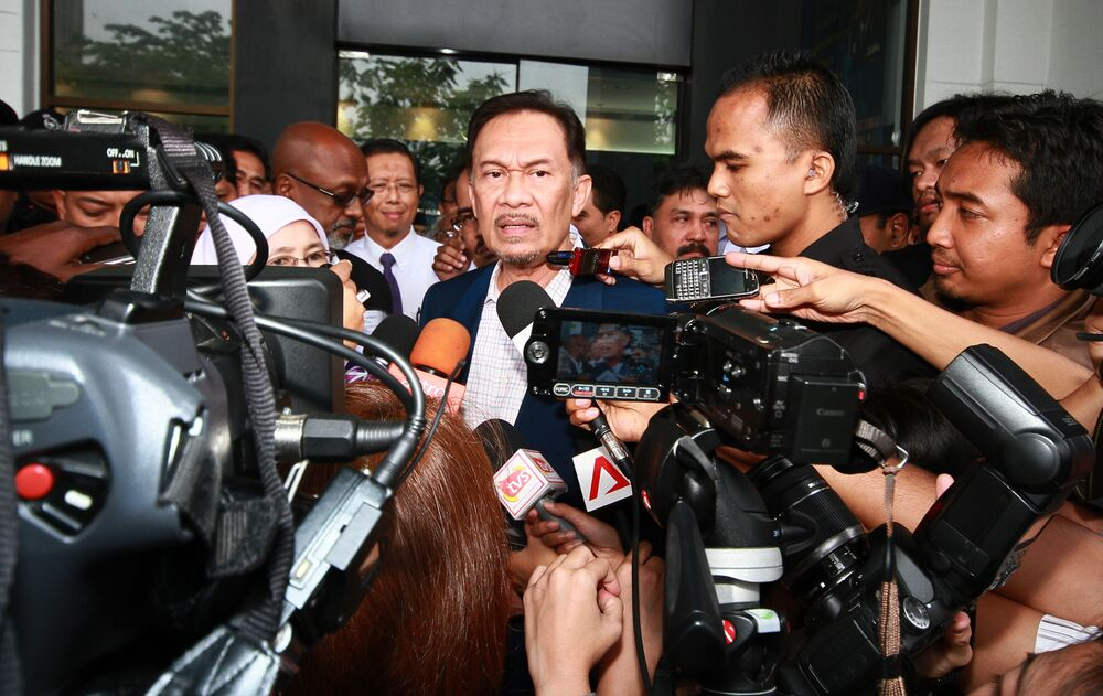 Seks-skandalista Anwar Ibrahim