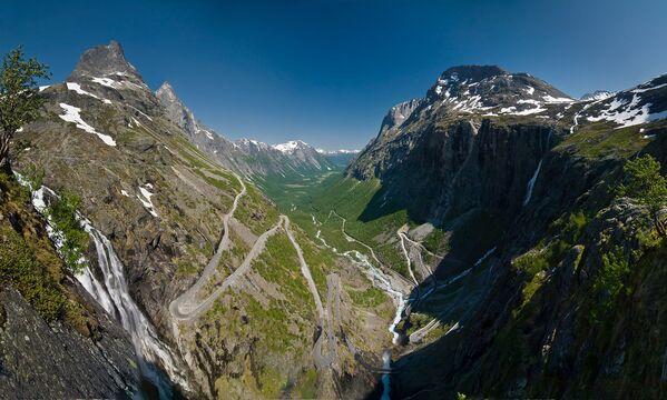 Droga Trolli w Norwegii - Sputnik Polska