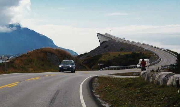 Droga Atlantycka w Norwegii - Sputnik Polska