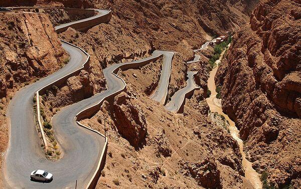 Trasa Dadès Gorges w górach Atlas w Maroku - Sputnik Polska