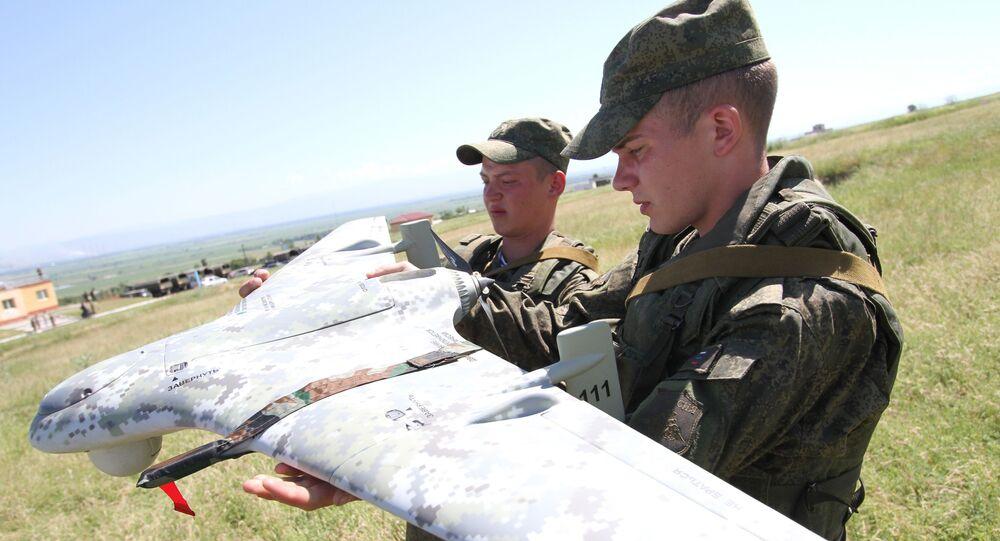 Testy rosyjskiego samolotu bezzałogowego Eleron-3CB