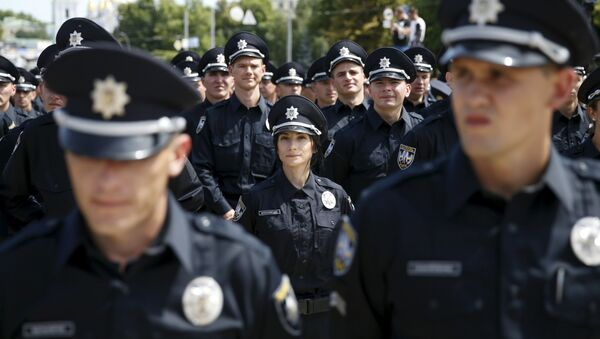 Ukraińska policja - Sputnik Polska
