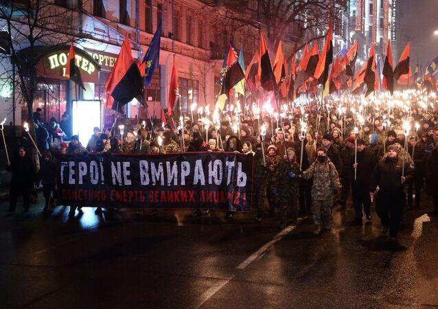 Marsz na cześć UPA, Kijów