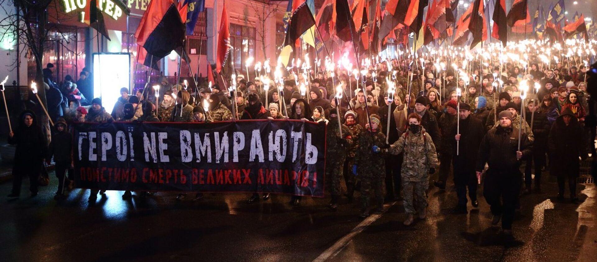 Marsz na cześć UPA, Kijów - Sputnik Polska, 1920, 15.03.2021