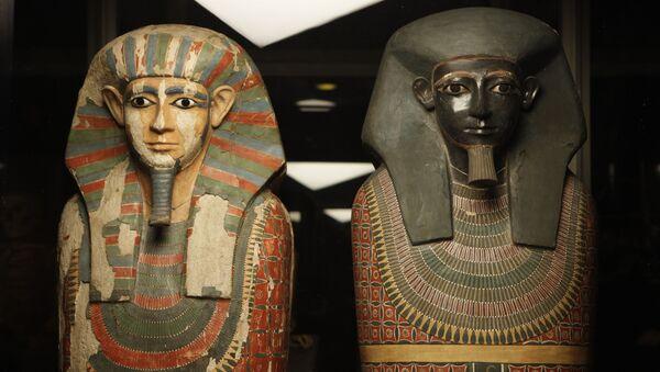 Mumie egipskich  braci  - Sputnik Polska