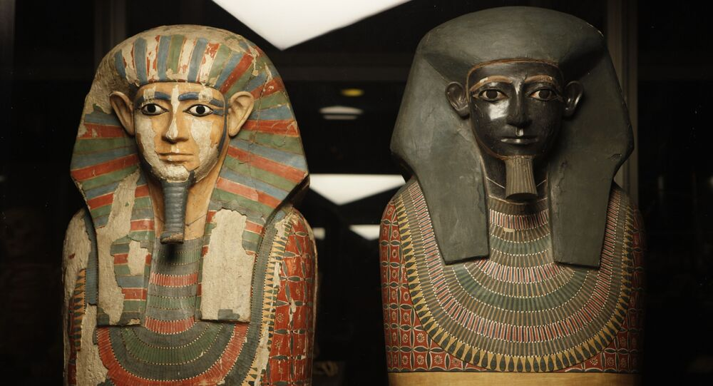 Mumie egipskich  braci