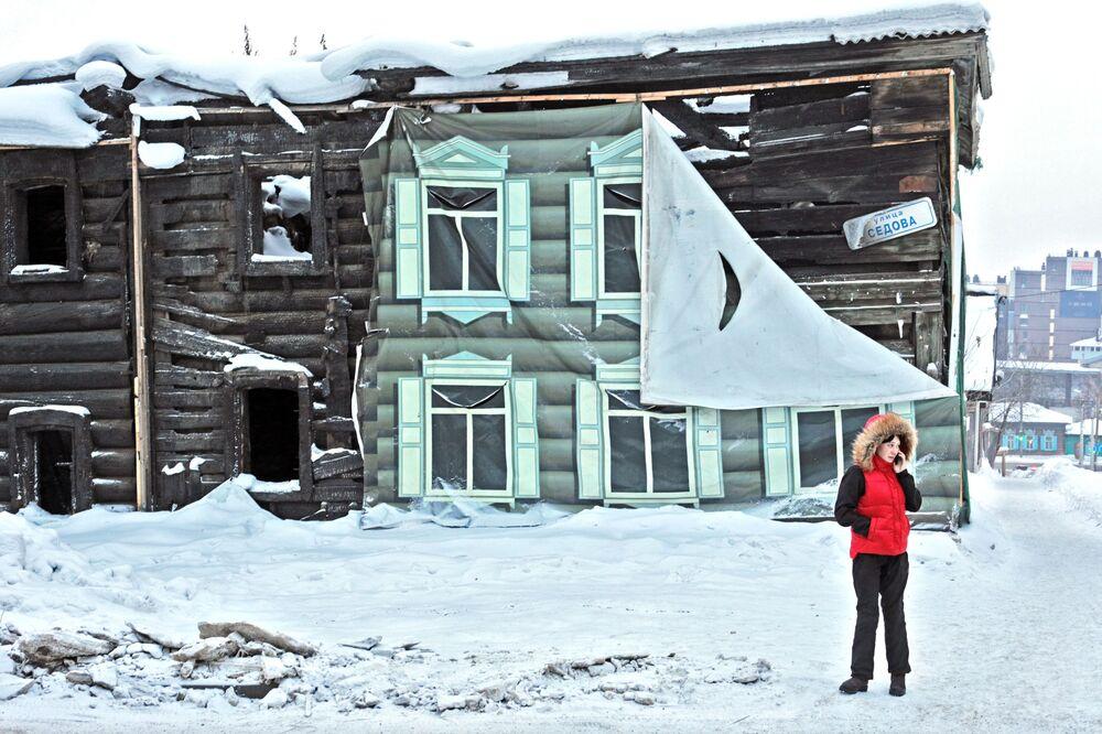 Irkuck – szóste pod względem wielkości miasto Syberii, mieszka w nim ponad 600 tysięcy osób.