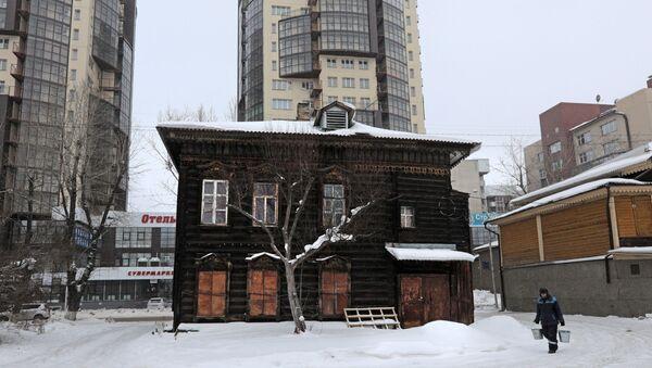 Irkuck – szóste pod względem wielkości miasto Syberii, mieszka w nim ponad 600 tysięcy osób. - Sputnik Polska