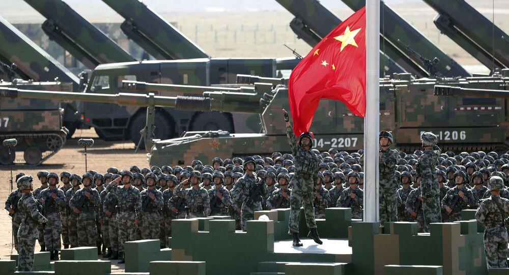 Defilada chińskiej armii
