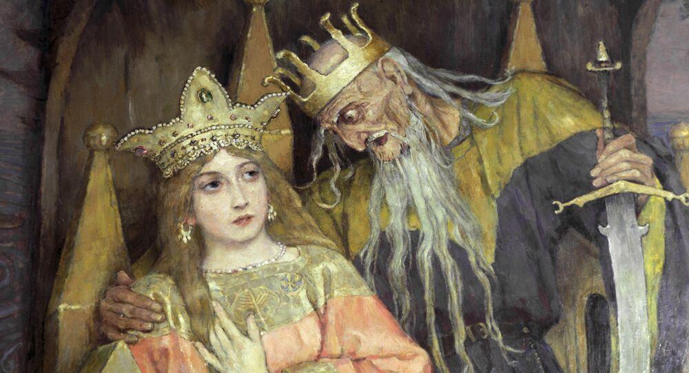 Obraz W. Wasniecowa Kościej Nieśmiertelny