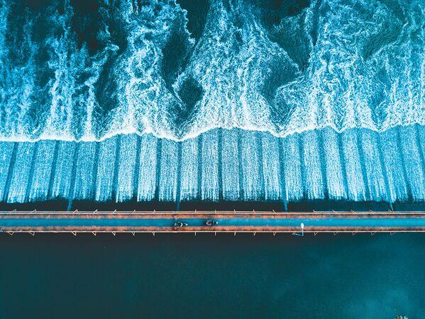 W kategorii Widok z góry zwyciężyła praca Chiang Mai fotografa z Wielkiej Brytanii Toma Sweetmana. - Sputnik Polska