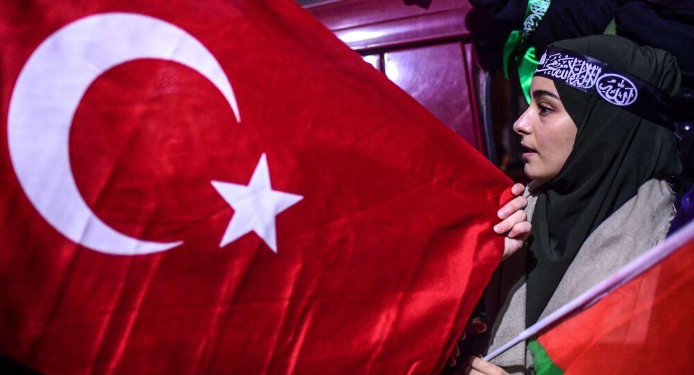 Protesty w Stambule