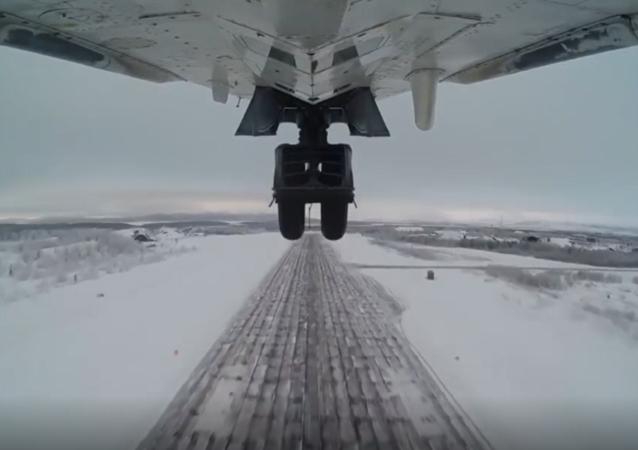 Załogi samolotów przechwytujących MiG-31 i  bombowców Su-24 przeprowadziły  szkolenia za kręgiem polarnym.