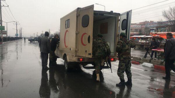 Ataki na akademię wojskową w Kabulu - Sputnik Polska