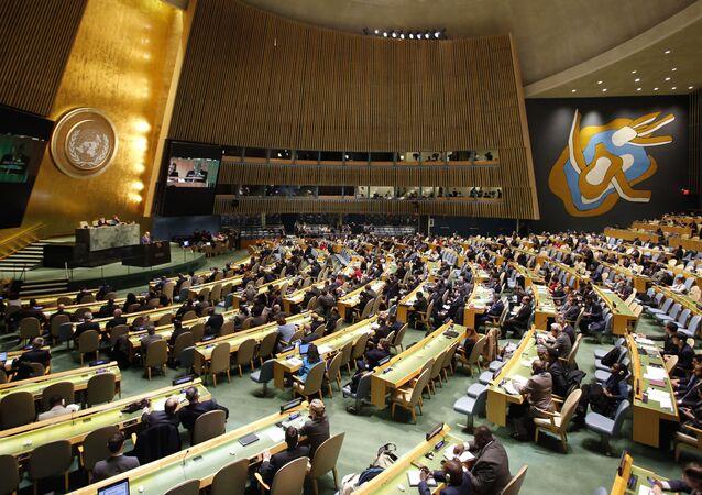 Posiedzenie ONZ