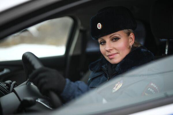 Inspektor drogówki Nina Grigor, 2017 rok - Sputnik Polska