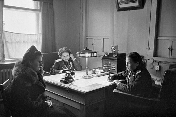 Oddział moskiewskiej policji, 1950 rok - Sputnik Polska